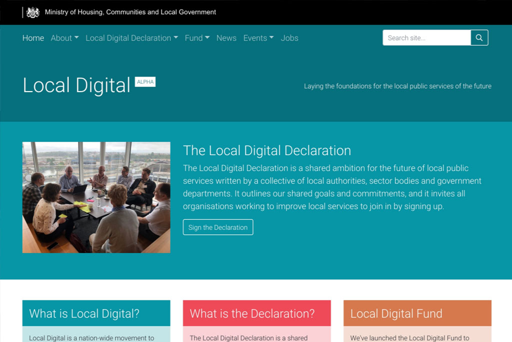 Working in the open - the Local Digital Declaration image